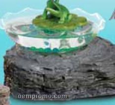 Magic Frog Bowl With Imitation Moving Frog