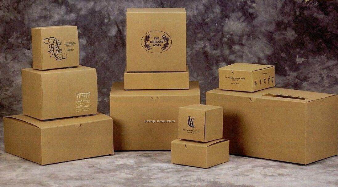 Natural Kraft Gift Boxes - 10