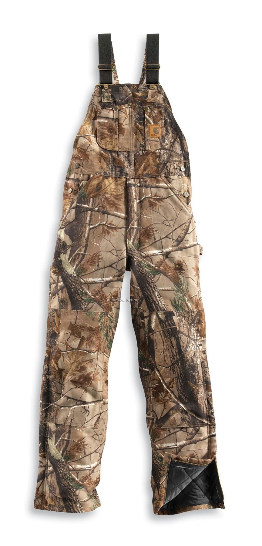 Carhartt Workcamo Ap Camouflage Bib Overall / Quilt Lined