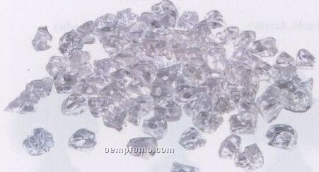 Clear Decorative Ice Rocks / 5 Lb. Bag (Bulk Pack)