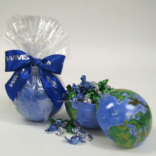 Mini Globe Gourmet Keepsake Bank