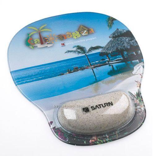Combo-padz Mousepad Motion Wrist Cushions - Sand Filled