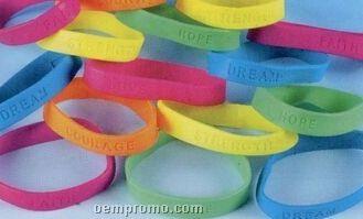 Rubber Bracelets W Inspirational Sayings China Wholesale