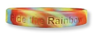 Embossed Silicone Bracelet (Multi-color)