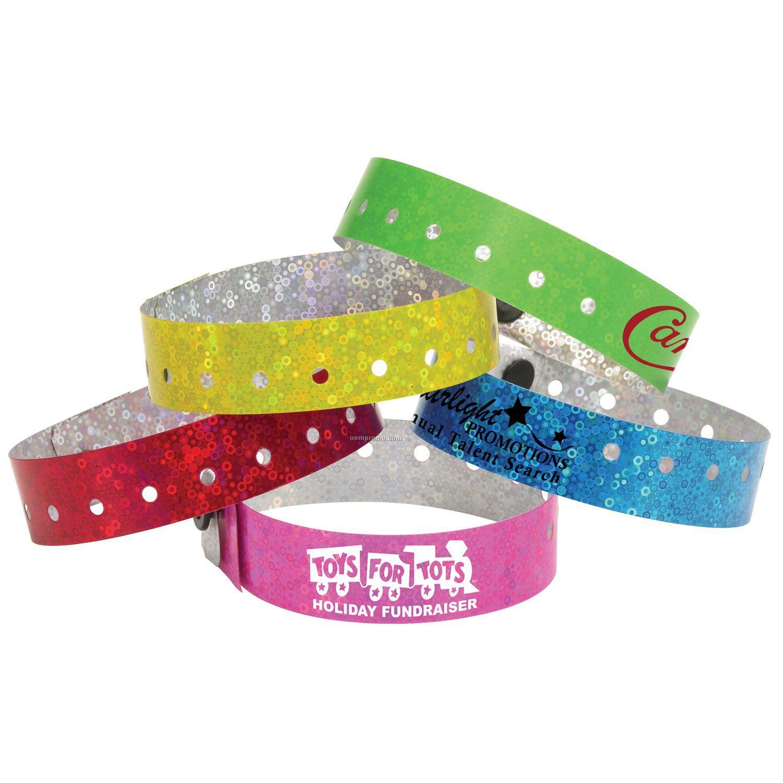 Liquid Glitter Wristband - 4 Hour Service