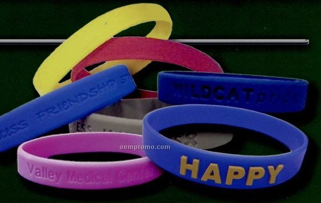 Adult Custom Silicone Wristband
