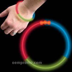 """Rgb Glow Bracelet (8"""")"""