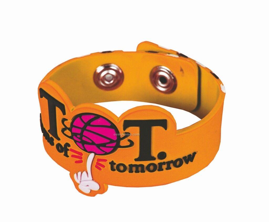 Soft Pvc Bracelet 3d Kid Size (Priority)