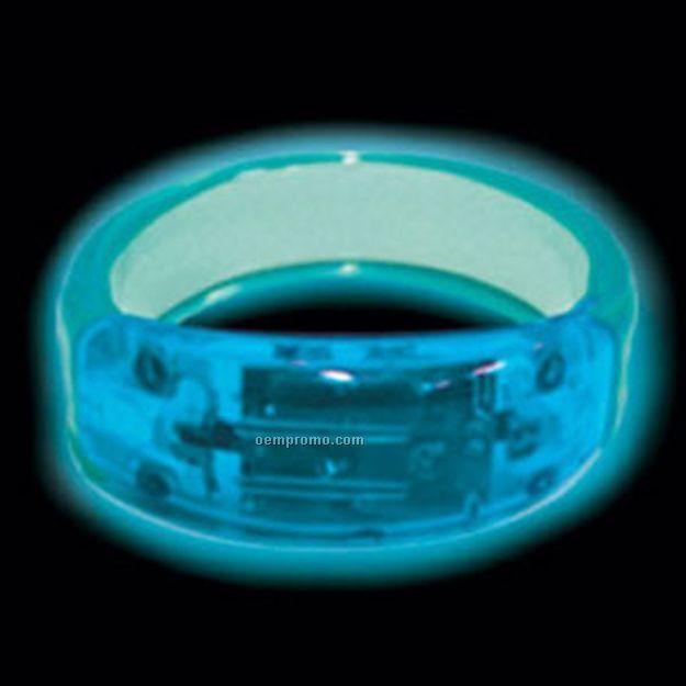 Blue LED Bangle Light Up Bracelet