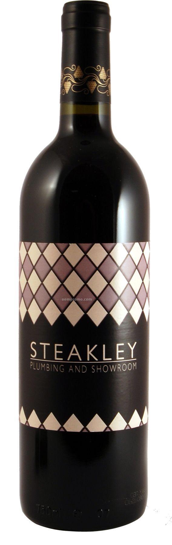 2007 Wv Three Vines Red, California Wine (Custom Labeled Wine)