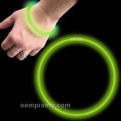 """Green Glow Bracelet (9"""")"""