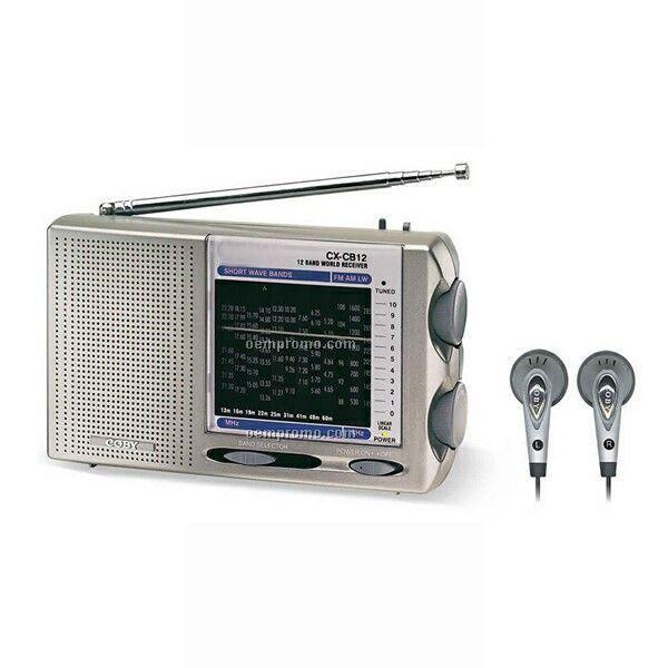 12 Band AM/FM/Sw Pocket Radio