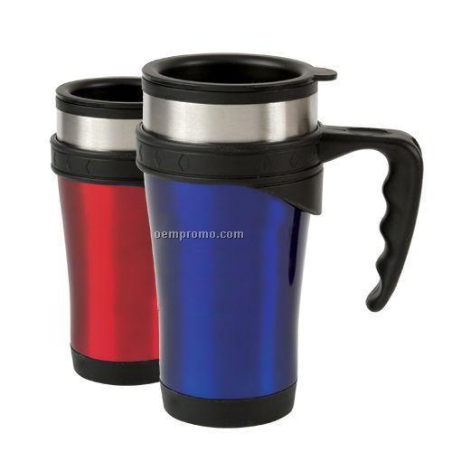 16 Oz. Power Grip Travel Mug