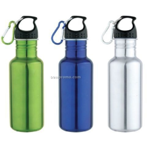 17 Oz. Curvy Stainless Steel Bottle