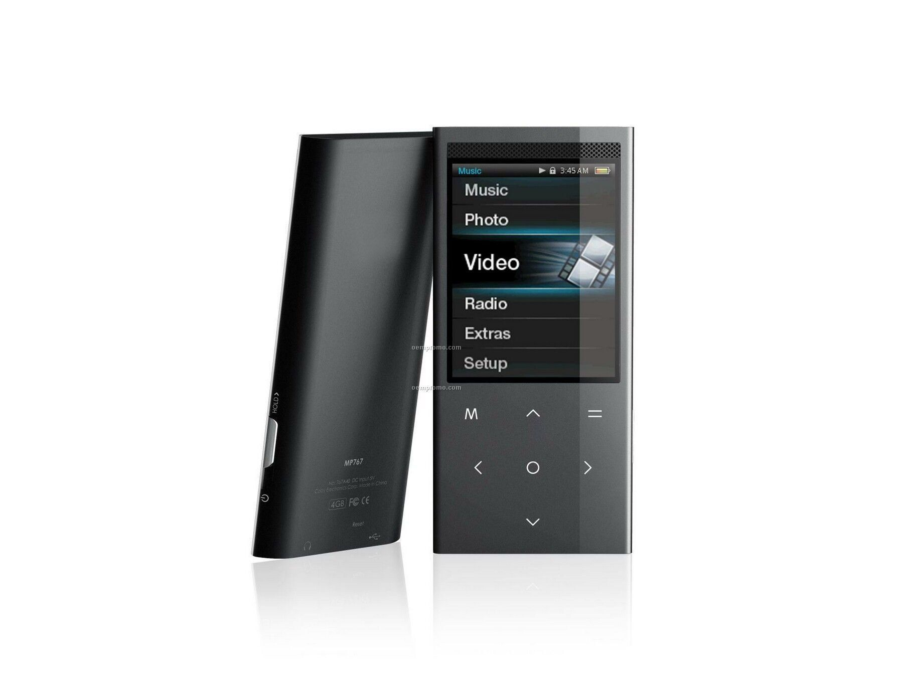 "2.4"" Touchpad Video Mp3 Player With Stereo Speakers"