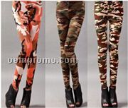 2 Sassy Army Camouflage Leggings