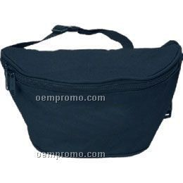 2 Zipper Canvas Fanny Pack