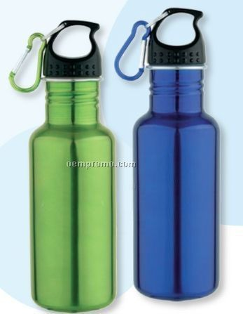 20 Oz. Curvy Stainless Steel Bottle