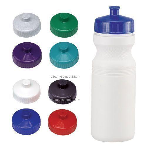 24 Oz. Water Bottle W/ Sport Grip