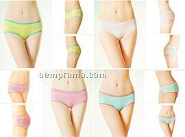5 Anti-bacteria Bamboo Fiber Panties
