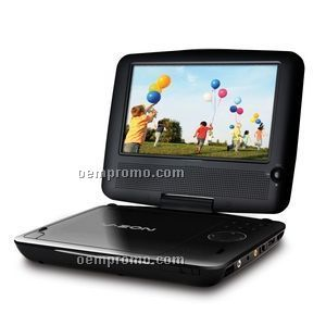 "7"" Portable DVD / CD / Mp3 Player W/Swivel Screen"