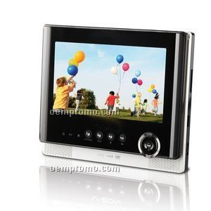 "7"" Portable Tablet Style DVD Player/ CD / Mp3"
