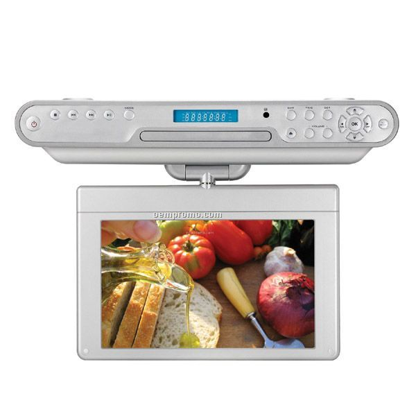 "7"" Under-counter DVD Player"