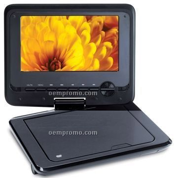 "7"" Swivel Portable DVD Player"