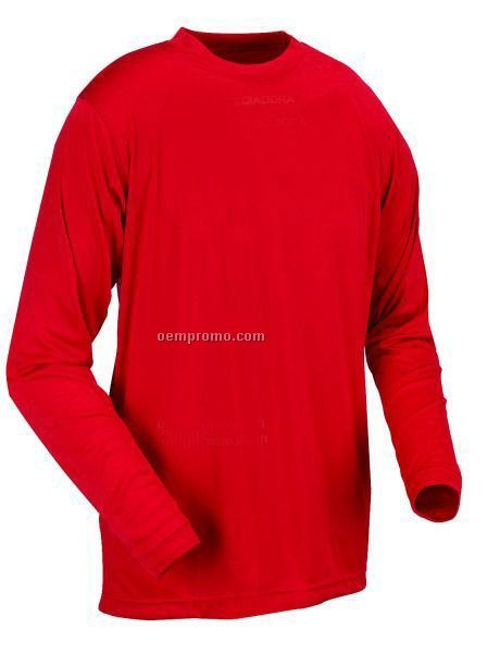 999810 Sfida Diadry Long Sleeve Soccer T-shirt