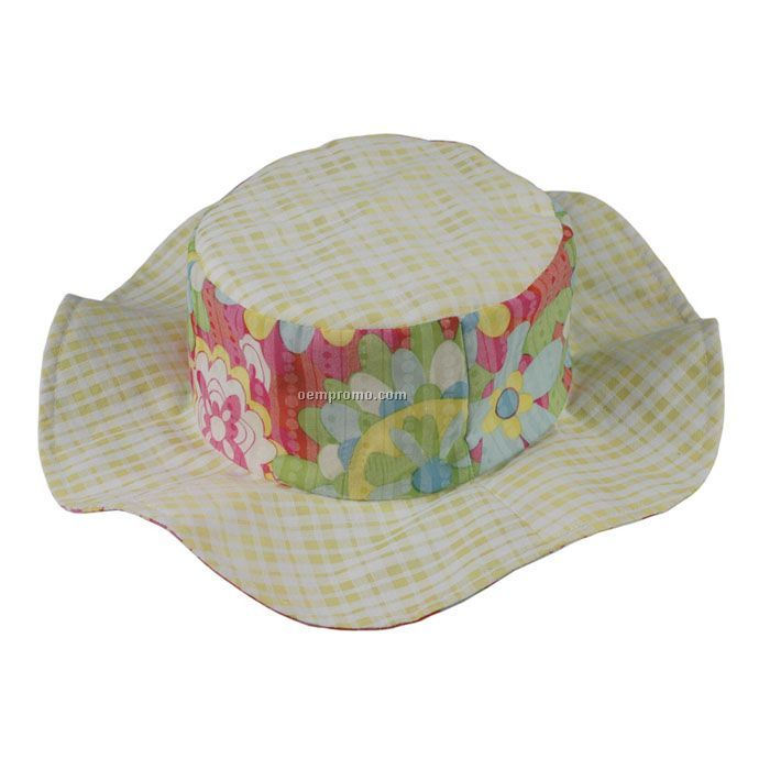 Afternoons Fun Bucket Hat - Infant Girls`