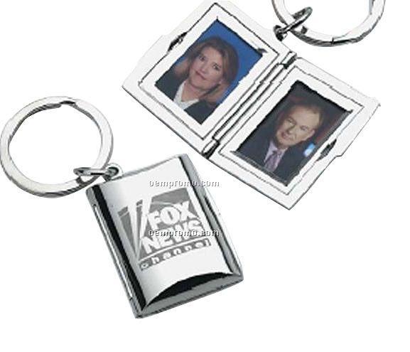 Ansel Locket Keychain