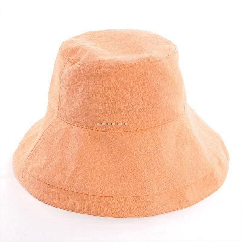 Basic orange packable bucket