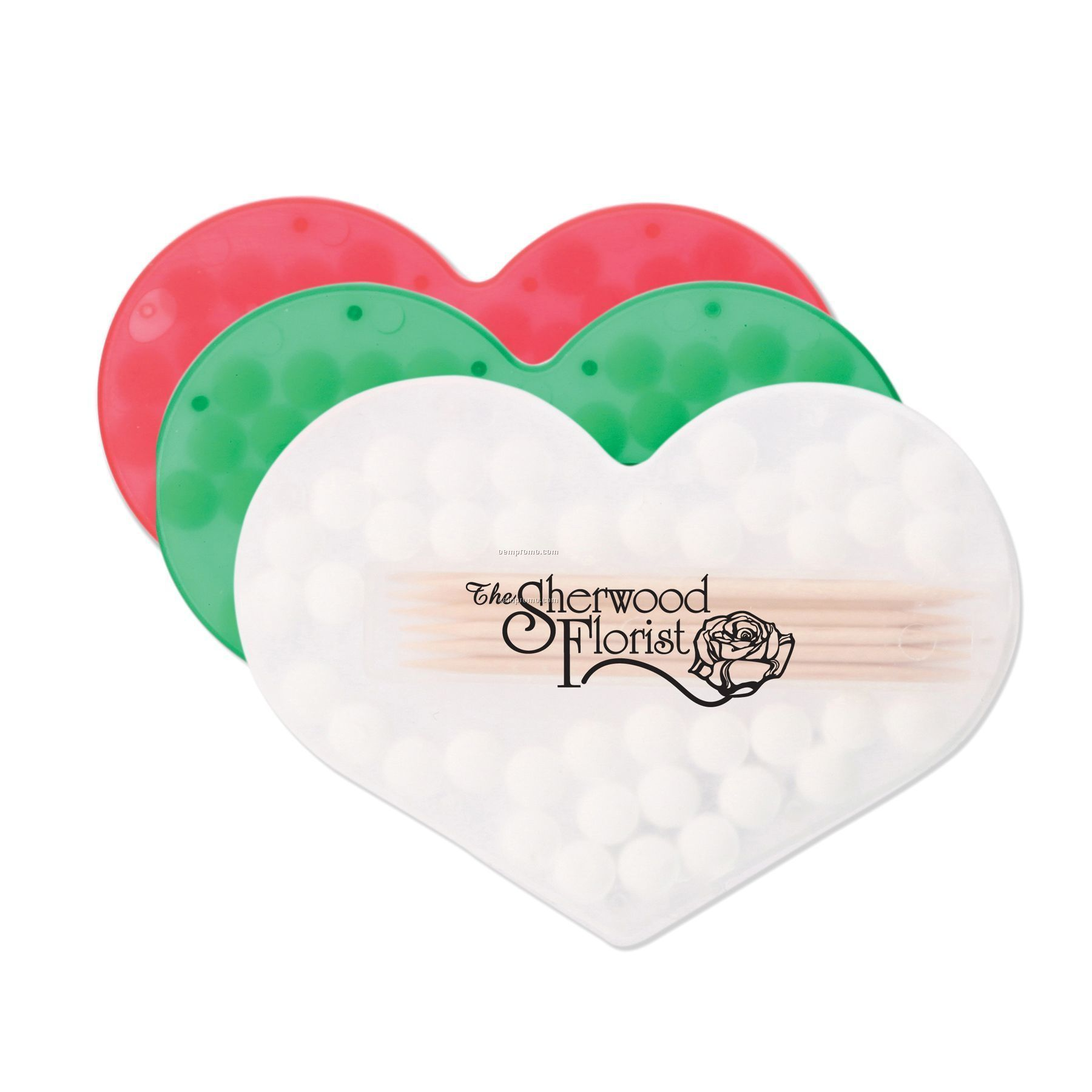 Bocca Fresca Mints & Toothpicks (Heart)