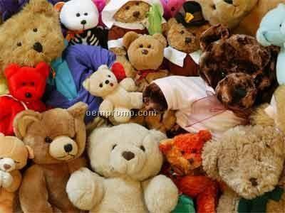 Brown Paw Bear Stuffed Animal