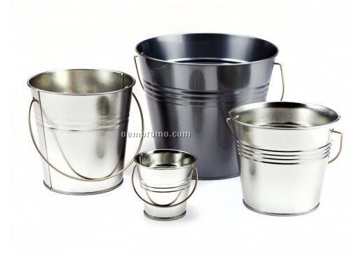 CONE BUCKET TIN WITH HANDLE