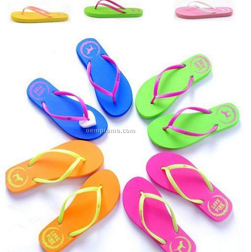 Cartoon Theme Flip Flop Sandals