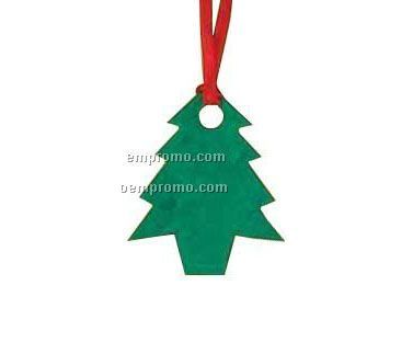 Color Floral Seed Paper Ornament - Christmas Tree (No Imprint)