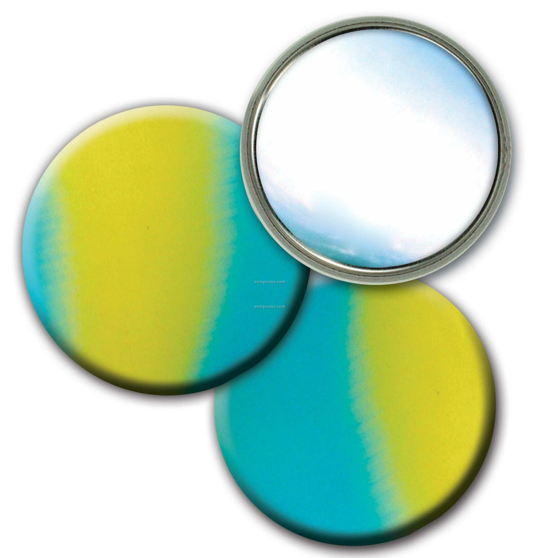 Compact Mirror Lenticular Color Changing Effect (Imprinted)