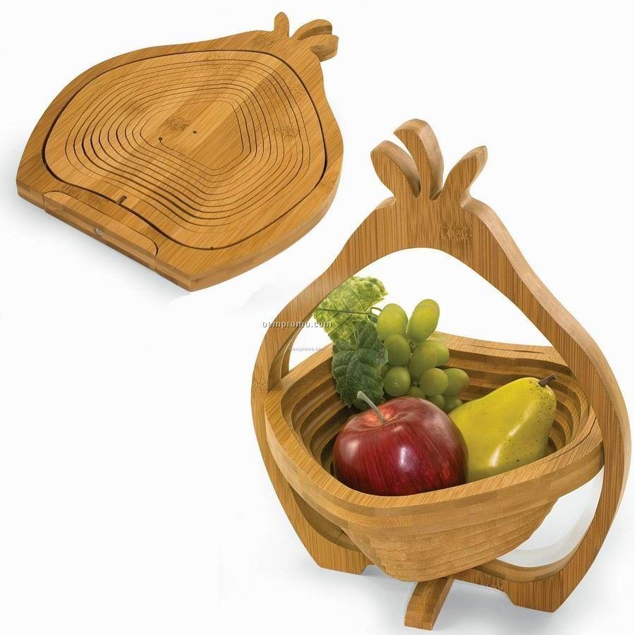 Contour Pear Shaped Fruit Basket / Trivet