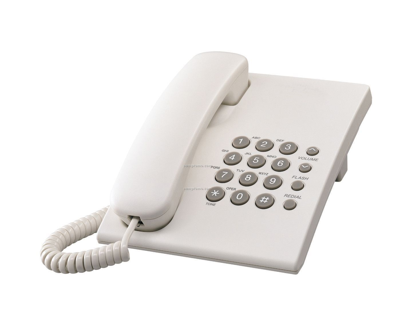 Corded Telephone (White)