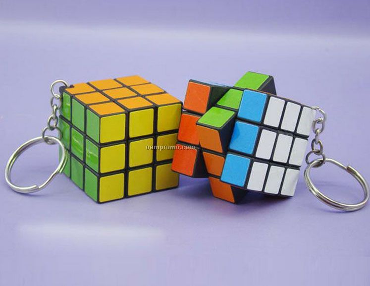 Cube Game With Keychain
