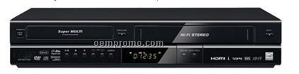 DVD / VHS Recorder With Versatile Compatible Formats