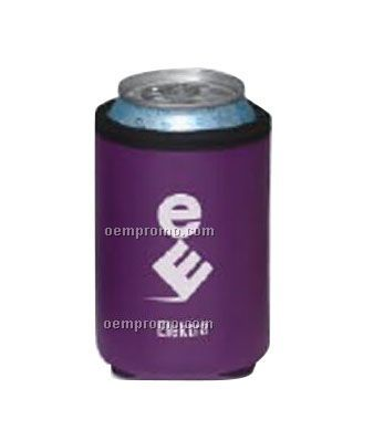 Deluxe Collapsible Vinyl Can Cooler / Beverage Insulator