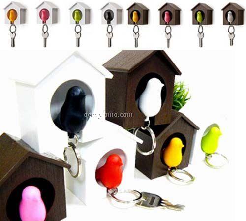 Designer Key Ring and Holder