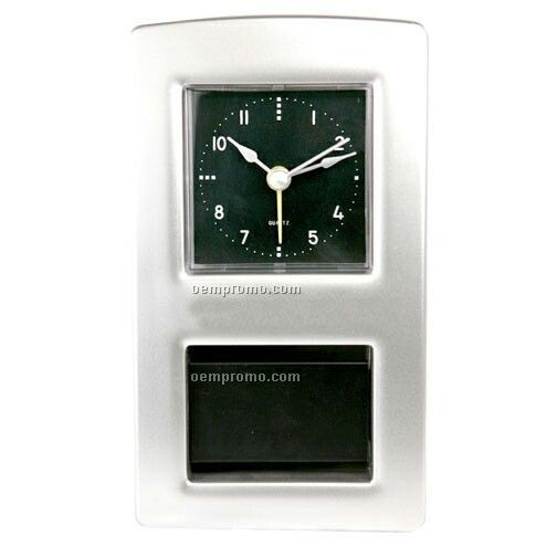 Desktop Alarm Clock With Square Face