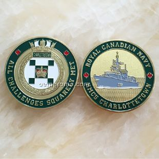 Die Struck Soft Enamel Coins, commemorative coin
