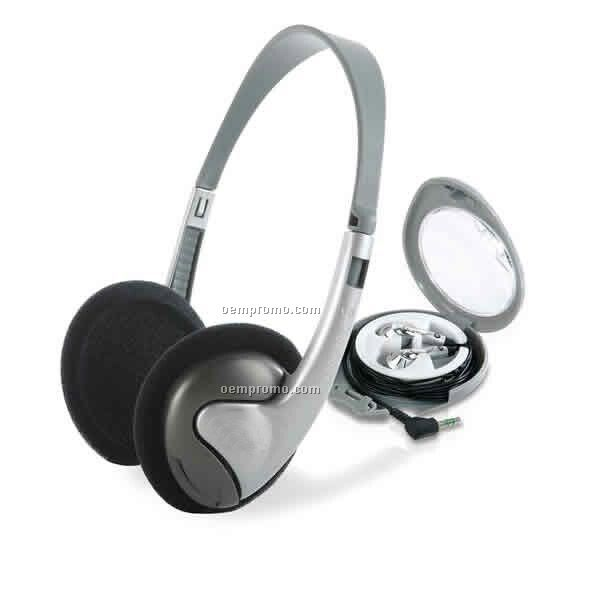 Digital Stereo Headphones W Volume Control