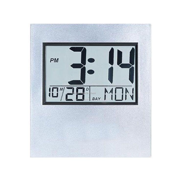 Digital Wall Or Desk Top Clock - Large