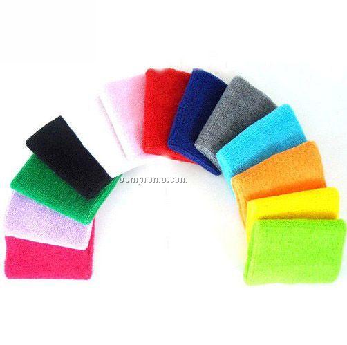 Direct Print Acrylic Plush Knit Wristband