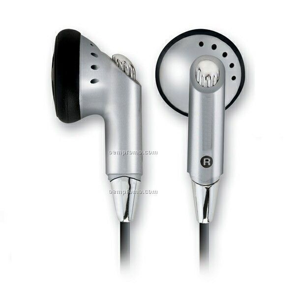 Dynamic Stereo Earphones W/ Cable Tie